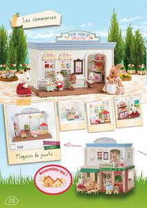 Catalogue Sylvanian Families 2014 page 28