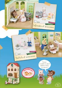 Catalogue Sylvanian Families 2014 page 43