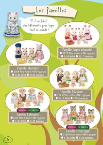 Catalogue Sylvanian Families 2015 page 6