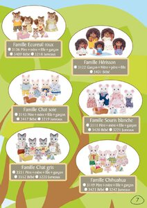 Catalogue Sylvanian Families 2015 page 7
