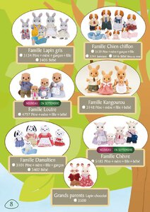 Catalogue Sylvanian Families 2015 page 8