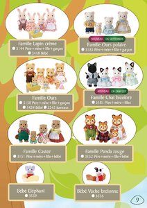 Catalogue Sylvanian Families 2015 page 9