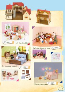 Catalogue Sylvanian Families 2015 page 17