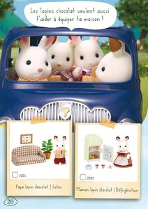 Catalogue Sylvanian Families 2015 page 20