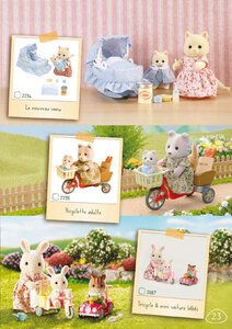 Catalogue Sylvanian Families 2015 page 23