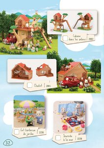 Catalogue Sylvanian Families 2015 page 32