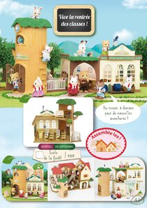 Catalogue Sylvanian Families 2015 page 41