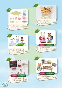 Catalogue Sylvanian Families 2015 page 42