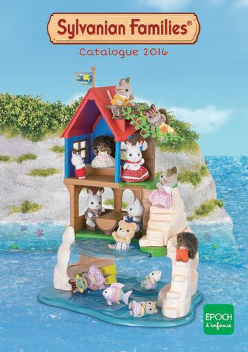 Catalogue Sylvanian Families 2019