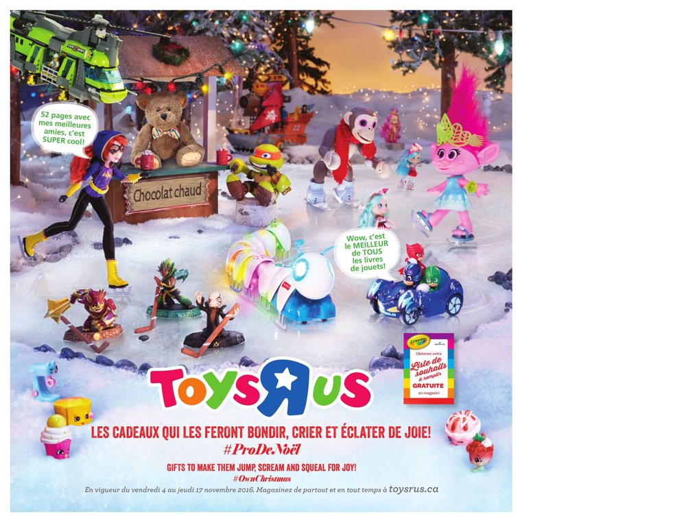 catalogue jouet noel 2018 toys Catalogue (circulaire) Toys'R'Us Canada Noël 2016 | Catalogue de  catalogue jouet noel 2018 toys