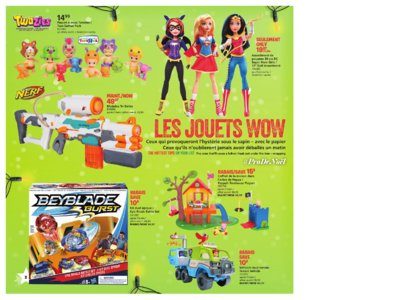 Catalogue (circulaire) Toys'R'Us Canada Noël 2016 page 2