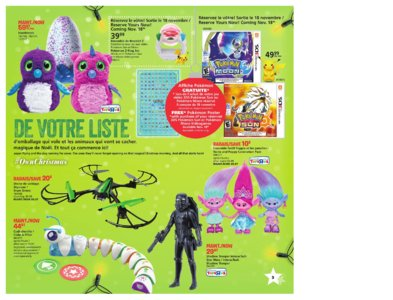Catalogue (circulaire) Toys'R'Us Canada Noël 2016 page 3