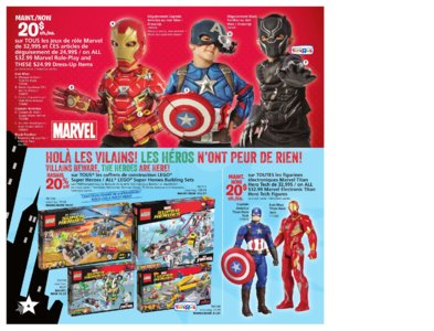 Catalogue (circulaire) Toys'R'Us Canada Noël 2016 page 4