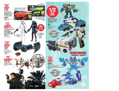 Catalogue (circulaire) Toys'R'Us Canada Noël 2016 page 7