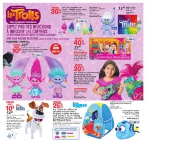 Catalogue (circulaire) Toys'R'Us Canada Noël 2016 page 8