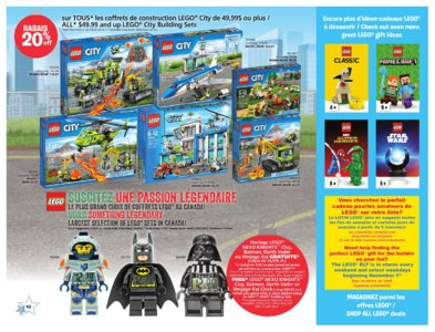 Catalogue (circulaire) Toys'R'Us Canada Noël 2016 page 10