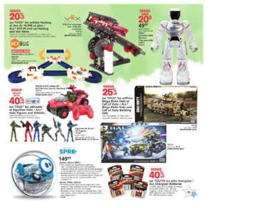 Catalogue (circulaire) Toys'R'Us Canada Noël 2016 page 13