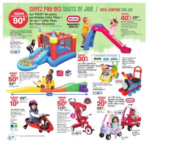 Catalogue (circulaire) Toys'R'Us Canada Noël 2016 page 18