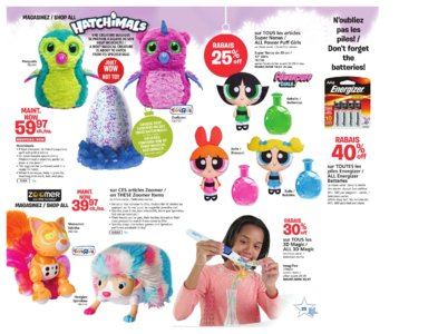 Catalogue (circulaire) Toys'R'Us Canada Noël 2016 page 25