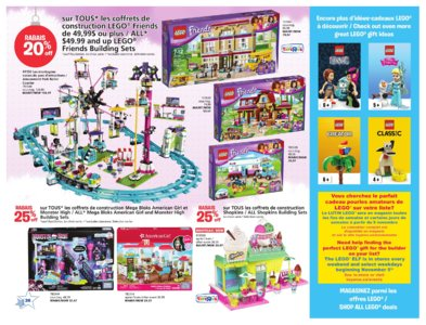 Catalogue (circulaire) Toys'R'Us Canada Noël 2016 page 26
