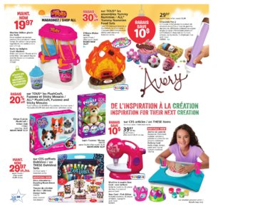 Catalogue (circulaire) Toys'R'Us Canada Noël 2016 page 28