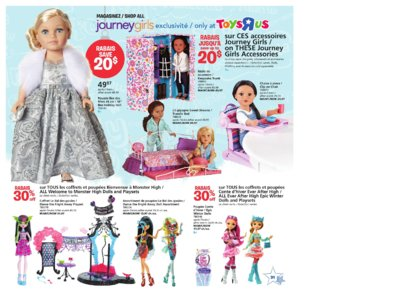 Catalogue (circulaire) Toys'R'Us Canada Noël 2016 page 31