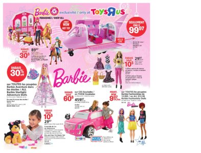 Catalogue (circulaire) Toys'R'Us Canada Noël 2016 page 33