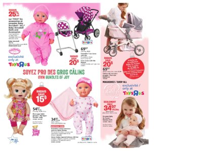 Catalogue (circulaire) Toys'R'Us Canada Noël 2016 page 34