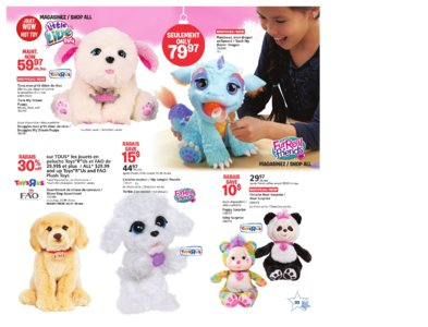 Catalogue (circulaire) Toys'R'Us Canada Noël 2016 page 35