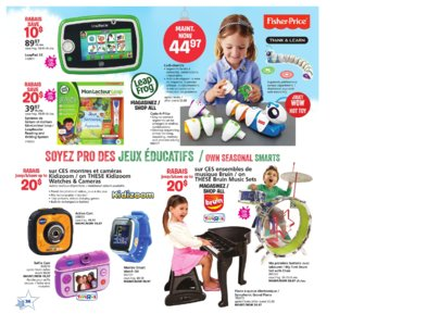 Catalogue (circulaire) Toys'R'Us Canada Noël 2016 page 36