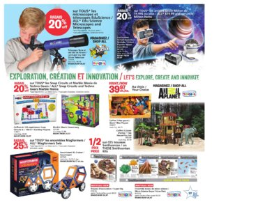 Catalogue (circulaire) Toys'R'Us Canada Noël 2016 page 37