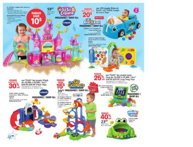 Catalogue (circulaire) Toys'R'Us Canada Noël 2016 page 38