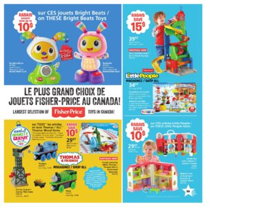 Catalogue (circulaire) Toys'R'Us Canada Noël 2016 page 39