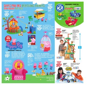 Catalogue (circulaire) Toys'R'Us Canada Noël 2016 page 40