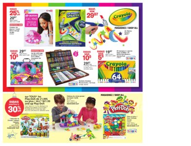 Catalogue (circulaire) Toys'R'Us Canada Noël 2016 page 44