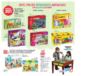 Catalogue (circulaire) Toys'R'Us Canada Noël 2016 page 46