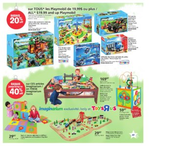 Catalogue (circulaire) Toys'R'Us Canada Noël 2016 page 47