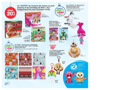 Catalogue (circulaire) Toys'R'Us Canada Noël 2016 page 50