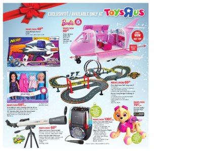 Catalogue (circulaire) Toys'R'Us Canada Noël 2016 page 52