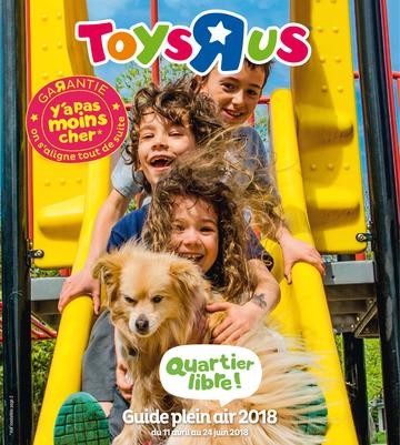 Catalogue Toys'R'Us Plein Air 2018