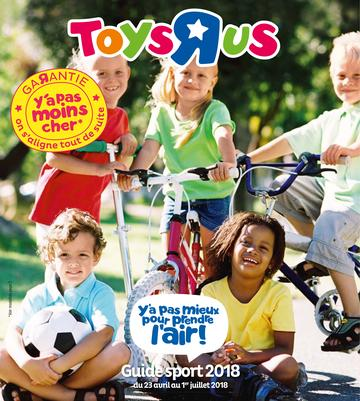 Catalogue Toys'R'Us Guide Sport 2018