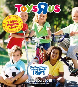Catalogue Toys'R'Us Guide Sport 2018 page 1