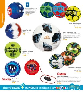 Catalogue Toys'R'Us Guide Sport 2018 page 38