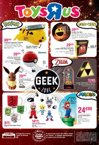 Catalogue Toys'R'Us La Sélection Geek de Noël 2017 page 12