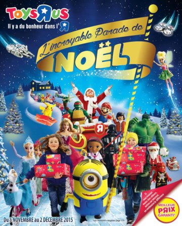 Catalogue Toys'R'Us Noël 2015