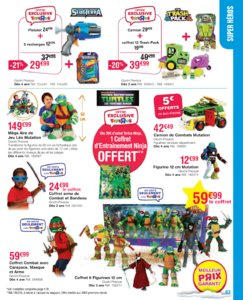 Catalogue Toys'R'Us Noël 2015 page 63
