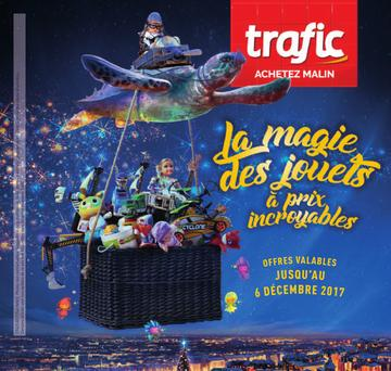 Catalogue Trafic Belgique Noël 2017