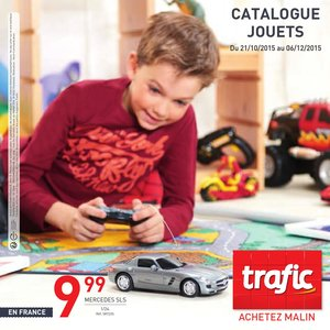 Catalogue Trafic France Noël 2015 page 1