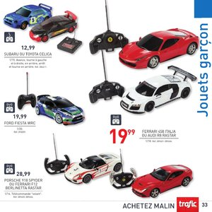 Catalogue Trafic France Noël 2015 page 33