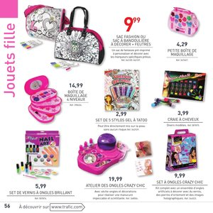 Catalogue Trafic France Noël 2015 page 56